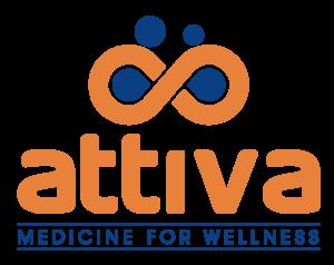 logo vector bicromatico attiva